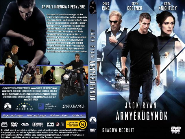 Jack Ryan: Árnyékügynök (Jack Ryan: Shadow Recruit)  2014